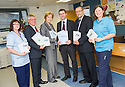 To coincide with the publication of the NHS Scotland 2013 Staff Survey Results Michael Matheson MSP, Minister for Public Health, meets NHS staff at Forth Valley Royal Hospital to speak about the issues important to them and hear their views on the survey feedback.