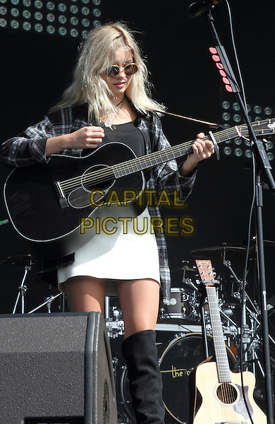 BIRMINGHAM, UNITED KINGDOM - AUGUST 31: Nina Nesbitt performs during day 2 of Fusion Festival 2014 on August 31, 2014 in Birmingham, England.<br /> CAP/ROS<br /> &copy;Steve Ross/Capital Pictures