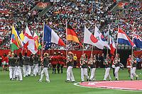 VANCOUVER, CANADÁ, 05.07.2015 - EUA-JAPÃO - Cerimonia de encerramento da Copa do Mundo de Futebol Feminino no Estádio BC Place em Vancouver  no Canadá neste domingo, 05. (Foto: Vanessa Carvalho/Brazil Photo Press)