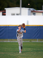 Lakewood Spartans right fielder Jeremy Texel (1) during a game against the Boca Ciega Pirates at Boca Ciega High School on March 2, 2016 in St. Petersburg, Florida.  Boca Ciega defeated Lakewood 2-1.  (Mike Janes/Four Seam Images)
