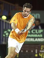 20030921, Zwolle, Davis Cup, NL-India, Raemon Sluiter