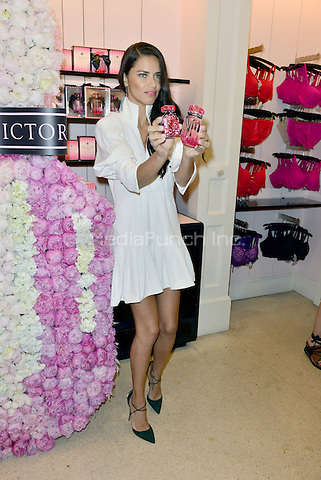 MIAMI BEACH, FL - APRIL 28: Adriana Lima attends Victoria's Secret Bombshell Fragrance launch event at Victoria's Secret store on Lincoln Road on April 28, 2016 in Miami Beach, Florida. Credit: MPI10 / MediaPunch