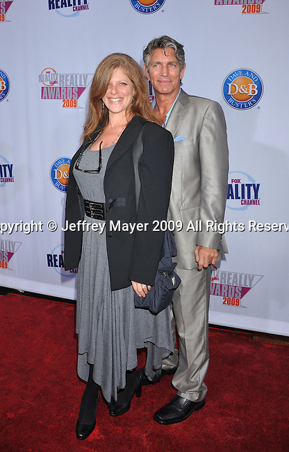 HOLLYWOOD, CA. - October 13: Eric Roberts and wife Eliza Roberts arrive at the 2009 Fox Reality Channel Really Awards at the Music Box at the Fonda Theatre on October 13, 2009 in Hollywood, California.