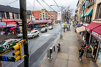 Astoria, New York - 7 April 2016 - 30th Avenue in Astoria Queens ©Stacy Walsh Rosenstock