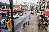 Astoria, New York - 7 April 2016 - 30th Avenue in Astoria Queens ©Stacy Walsh Rosenstock