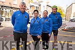 Members of the Slieve Lucra cycling club enjoying the Rás Mumhan cycling in Killorglin on Easter Monday.<br /> L to r: Donal and Karina Kelliher (Rathmore), Denise and Sean Dineen (Knocknagree)