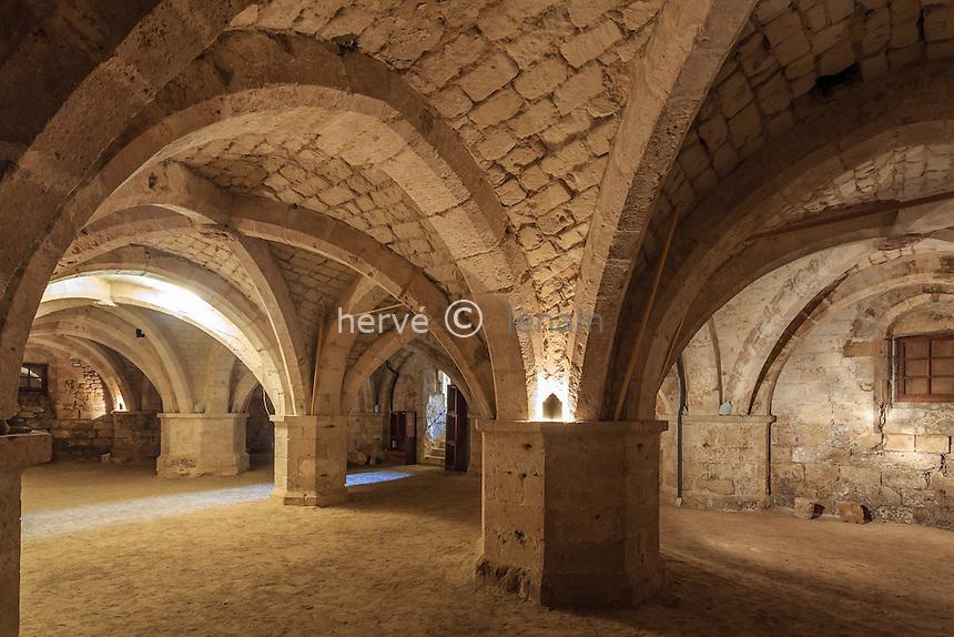 France, Orne (61), Mortagne-au-Perche, crypte Saint-André // France, Orne, Mortagne au Perche, Saint Michel crypt