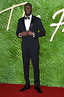 Stormzy<br /> arriving for The Fashion Awards 2017 at the Royal Albert Hall, London<br /> <br /> <br /> ©Ash Knotek  D3356  04/12/2017