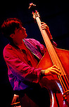 Chris Minh Doky. Texaco Jazz Festival. Canary Wharf circa 1990