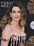 """Anne Hathaway  attends The Premiere Of Disney's """"Alice Through The Looking Glass"""" held at The El Capitan Theatre  in Hollywood, California on May 23,2016                                                                               © 2016 Hollywood Press Agency"""