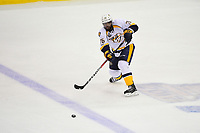 May 31, 2017: Nashville Predators defenseman P.K. Subban (76) passes the puck during game two of the National Hockey League Stanley Cup Finals between the Nashville Predators  and the Pittsburgh Penguins, held at PPG Paints Arena, in Pittsburgh, PA. The Penguins defeat the Predators 4-1 and lead the series 2-0. Eric Canha/CSM