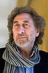 Howard Jacobson, comic novelist and winner of the 2010 Man Booker Prize for Fiction at Blenheim Palace during the Woodstock Literary Festival, Woodstock, Oxfordshire, UK. 17 September 2010. Photograph copyright Graham Harrison.