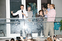 Democratic presidential candidate Pete Buttigieg speaks at a campaign event at the Currier Museum of Art in Manchester, New Hampshire, USA, on Fri., Apr. 5, 2019. The venue was filled to capacity about an hour before the candidate's arrival, so Buttigieg delivered an impromptu speech to those denied entry outside the museum before the official event. Buttigieg is the mayor of South Bend, Indiana, and was widely considered a long-shot candidate until his appearance in a CNN town hall in March 2019 which catapulted his campaign to prominence and substantial donations.