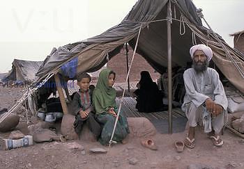 Afghanistan refugee camp.