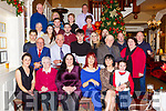Joan O'Sullivan seated second from left celebrated her 80th birthday with her family and friends  in the International Hotel Killarney on Saturday night