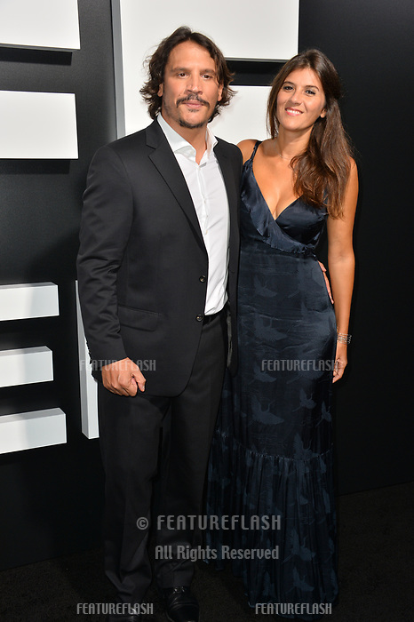 LOS ANGELES, CA. September 13, 2018: Sergio Peris-Mencheta &amp; Marta Solaz at the premiere for &quot;Life Itself&quot; at the Cinerama Dome.<br /> Picture: Paul Smith/Featureflash