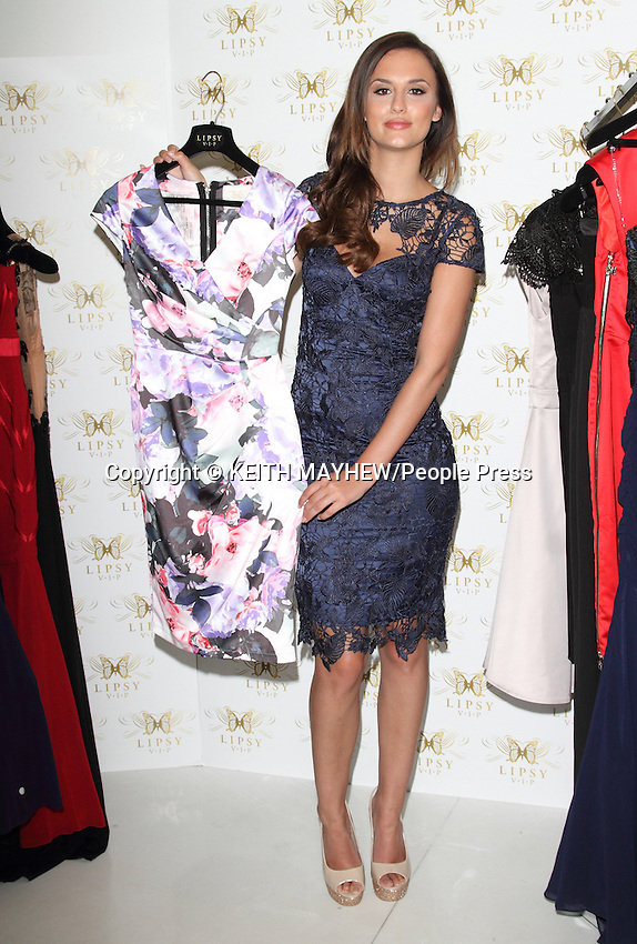 Lucy Watson for Lipsy VIP Fashion Launch at the Sanderson Hotel, London on May 8th 2014<br /> <br /> Photo by Keith Mayhew