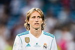 Luka Modric of Real Madrid reacts after winning the Supercopa de Espana Final 2nd Leg match between Real Madrid and FC Barcelona at the Estadio Santiago Bernabeu on 16 August 2017 in Madrid, Spain. Photo by Diego Gonzalez Souto / Power Sport Images