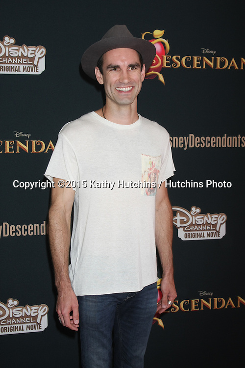 "LOS ANGELES - JUL 24:  Aaron Farb at the ""Descendants"" Premiere Screening at the Walt Disney Studios on July 24, 2015 in Burbank, CA"