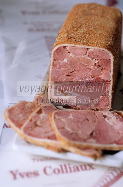 Europe/France/Champagne-Ardenne/51/Marne/Ay: Jambon de Reims de yves Colliaux charcutier-traiteur