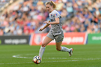 Bridgeview, IL - Sunday September 03, 2017: Samantha Mewis during a regular season National Women's Soccer League (NWSL) match between the Chicago Red Stars and the North Carolina Courage at Toyota Park. The Red Stars won 2-1.