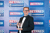Picture by Allan McKenzie/SWpix.com - 25/09/2018 - Rugby League - Betfred Championship & League 1 Awards Dinner 2018 - The Principal Manchester- Manchester, England - Project of the Year goes to the London Broncos.