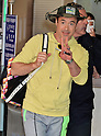 Actor Robert Downey Jr. arrives at Gimpo International Airport in Seoul, South Korea