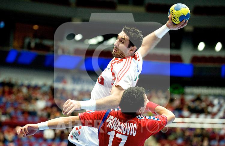 110119 Handboll, VM, Serbien - Kroatien: Blazenko Lackovic, Kroatien    .. Foto © nph / Bildbyrån   76206