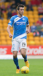 St Johnstone v Aberdeen&hellip;07.08.16  McDiarmid Park. SPFL<br />Joe Shaughnessy<br />Picture by Graeme Hart.<br />Copyright Perthshire Picture Agency<br />Tel: 01738 623350  Mobile: 07990 594431