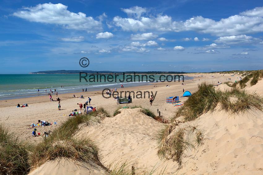 Grossbritannien, England, East Sussex, Camber: Strand und Sandduenen | Great Britain, England, East Sussex, Camber: Camber Sands and sand dunes