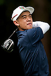 Korapat Dhanvarjan of Thailand in action during the 9th Faldo Series Asia Grand Final 2014 golf tournament on March 19, 2015 at Faldo course in Mid Valley clubhouse in Shenzhen, China. Photo by Xaume Olleros / Power Sport Images
