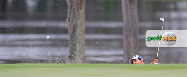 Hideki Matsuyama (JAP) during round 4 of the Hero World Challenge, Isleworth Golf &amp; Country Club, Windermere, Orlando Florida, USA. 07/12/2014<br /> Picture Fran Caffrey, www.golffile.ie
