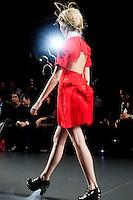 Leyre Valiente at Mercedes-Benz Fashion Week Madrid 2013