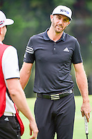 Dustin Johnson (USA) after missing his birdie attempt on 17  during round 3 of the World Golf Championships, Mexico, Club De Golf Chapultepec, Mexico City, Mexico. 3/4/2017.<br /> Picture: Golffile | Ken Murray<br /> <br /> <br /> All photo usage must carry mandatory copyright credit (&copy; Golffile | Ken Murray)