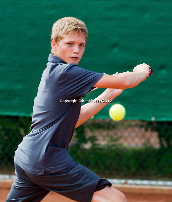 11-08-12, Netherlands, Hillegom, Tennis, NJK,  Bart Stevens