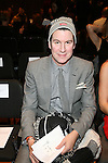Peter Davis-Front Row-Mercedes Benz Fashion Week Douglas Hannant Fall 2013, NY 2/13/13