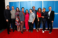 "LOS ANGELES - MAR 5:  Jusin Spitzer, Gabe Miller, Lauren Ash, Ben Feldman, America Ferrera, David Bernad, Mark McKinney, Nichole Bloom, Nico Santos, Jonathan Green at the ""Superstore"" For Your Consideration Event on the Universal Studios Lot on March 5, 2019 in Los Angeles, CA"