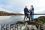 Husband and wife duo John Fitzgerald & Kerryann O'Farrell of Atlantic Irish Seaweed collect seaweed on the shoreline around Castlecove and Derrynane pictured here harvesting some Kelp and Sea Lettuce.
