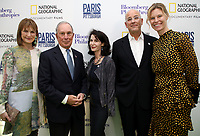 "LONDON, UK - DECEMBER 11: Patricia Harris, Michael Bloomberg, Katherine Oliver, Jon Kamen and Antha Williams attend the London Premiere of Bloomberg and National Geographic's ""Paris to Pittsburgh"" at the BAFTA Theatre on December 11, 2018 in London, UK. (Photo by Vianney Le Caer/National Geographic/PictureGroup)"