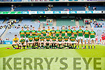 Kerry Team in the All Ireland Minor Quarter Final at Croke Park on Sunday.