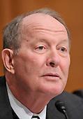 Washington, D.C. - January 9, 2009 -- United States Senator Lamar Alexander (Republican of Tennessee) questions United States Representative Hilda L. Solis (Democrat of California) during her testimony before the United States Senate Committee on Health, Labor, Education, and Pensions on her nomination to be United States Secretary of Labor in Washington, D.C. on Friday, January 9, 2009..Credit: Ron Sachs / CNP