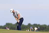 Bernd Wiesberger (AUT) chips onto the 6th green during Friday's Round 2 of the 117th U.S. Open Championship 2017 held at Erin Hills, Erin, Wisconsin, USA. 16th June 2017.<br /> Picture: Eoin Clarke | Golffile<br /> <br /> <br /> All photos usage must carry mandatory copyright credit (&copy; Golffile | Eoin Clarke)