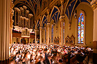 April 20, 2019; Easter Vigil Mass in the Basilica of the Sacred Heart (Photo by Matt Cashore/University of Notre Dame)