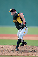 Pittsburgh Pirates pitcher Sam Street (23) during an Instructional League intersquad scrimmage on September 29, 2014 at the Pirate City in Bradenton, Florida.  (Mike Janes/Four Seam Images)
