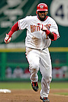 18 May 2007: Washington Nationals shortstop Cristian Guzman hustles to third base during a game against the Baltimore Orioles at RFK Stadium in Washington, DC. The Orioles defeated the Nationals 5-4 in the first game of the 3-game interleague series...Mandatory Photo Credit: Ed Wolfstein Photo