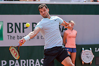 Grigor Dimitrov of Bulgaria during Day 4 for the French Open 2018 on May 30, 2018 in Paris, France. (Photo by Baptiste Fernandez/Icon Sport)