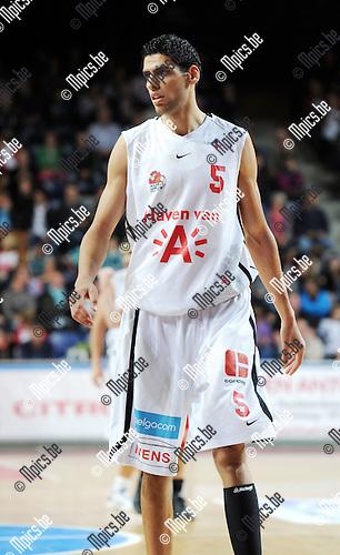 2011-10-15 / Basketbal / seizoen 2011-2012 / Antwerp Giants /  Salah Mejri..Foto: Mpics