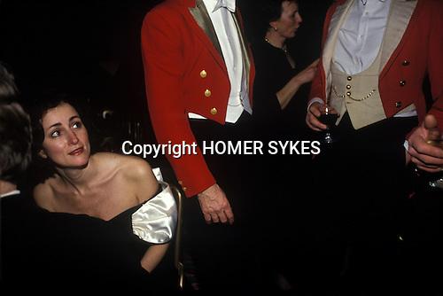 Tysoe, Warwickshire, England. The Warwick Hunt Ball is held at Tysoe Manor,
