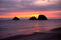 Three Arch Rocks. Oceanside Oregon United States Oregon Coast.