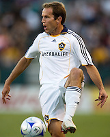 LA Galaxy midfielder Eddie Lewis. LA Galaxy defeated the Colorado Rapids 3-2 at Home Depot Center stadium in Carson, California on Sunday October 12, 2008. Photo by Michael Janosz/isiphotos.com